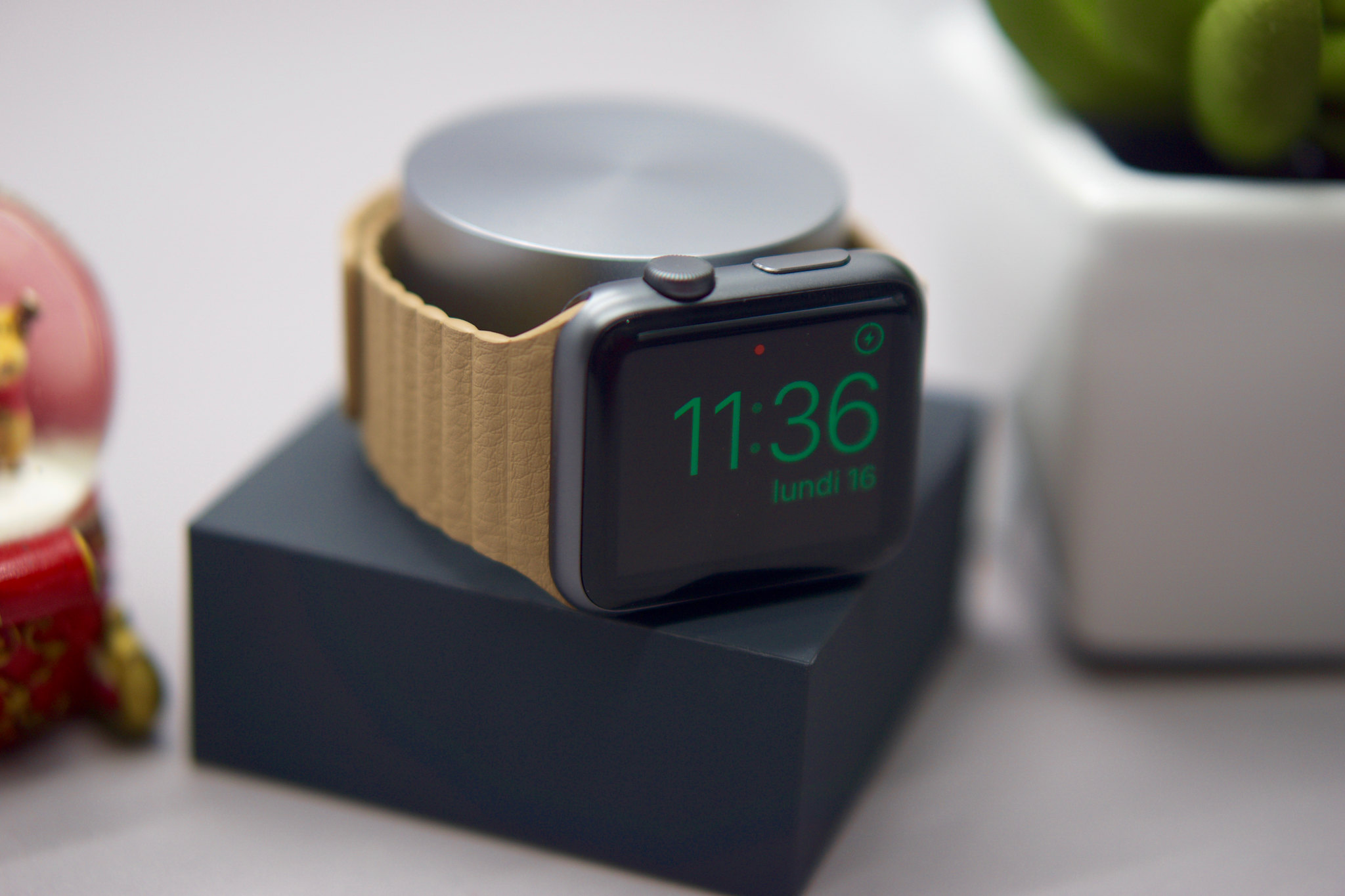 Test du dock Native Union pour Apple Watch
