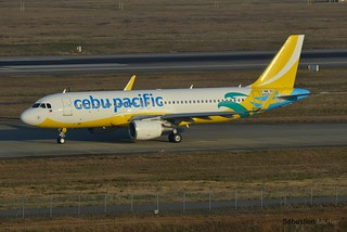 A.320-SHK CEBU PACIFIC AIR F-WWBT 6929 TO RP- NEW COLORS 21 12 15 TLS