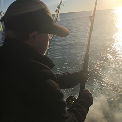 A great day #fishing in mouth of the Potomac
