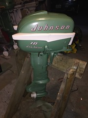 #boatmotor #boatmotorrestoration #mattsrestorationgarage #johnson #evinrude #omc #vibrageoutboard #vintagemotor #restoration #restore #calssicboat  Just a few motors that I have restored in the last few months.