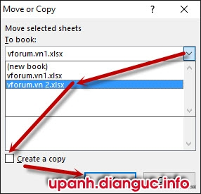 cách copy sheet trong excel sang file Excel khác