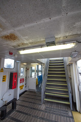 on the ferry: up!