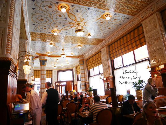 Praha 布拉格Cafe Imperial 帝國咖啡館 世界最美十大咖啡館 (1)