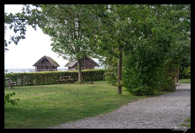 Palafitos Unteruhldingen lago Constanza - Cabañas de los palafitos