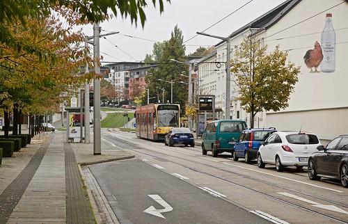 nordhausen tram105 siemensduocombino rautenstrasse 2016