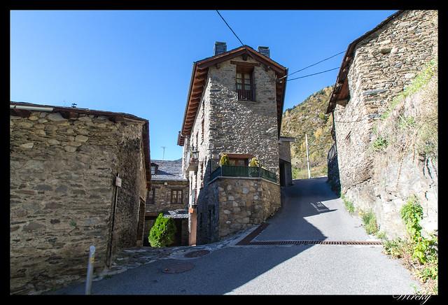 Conjunto histórico de Les Bons - Calle Sant Roma de Les Bons