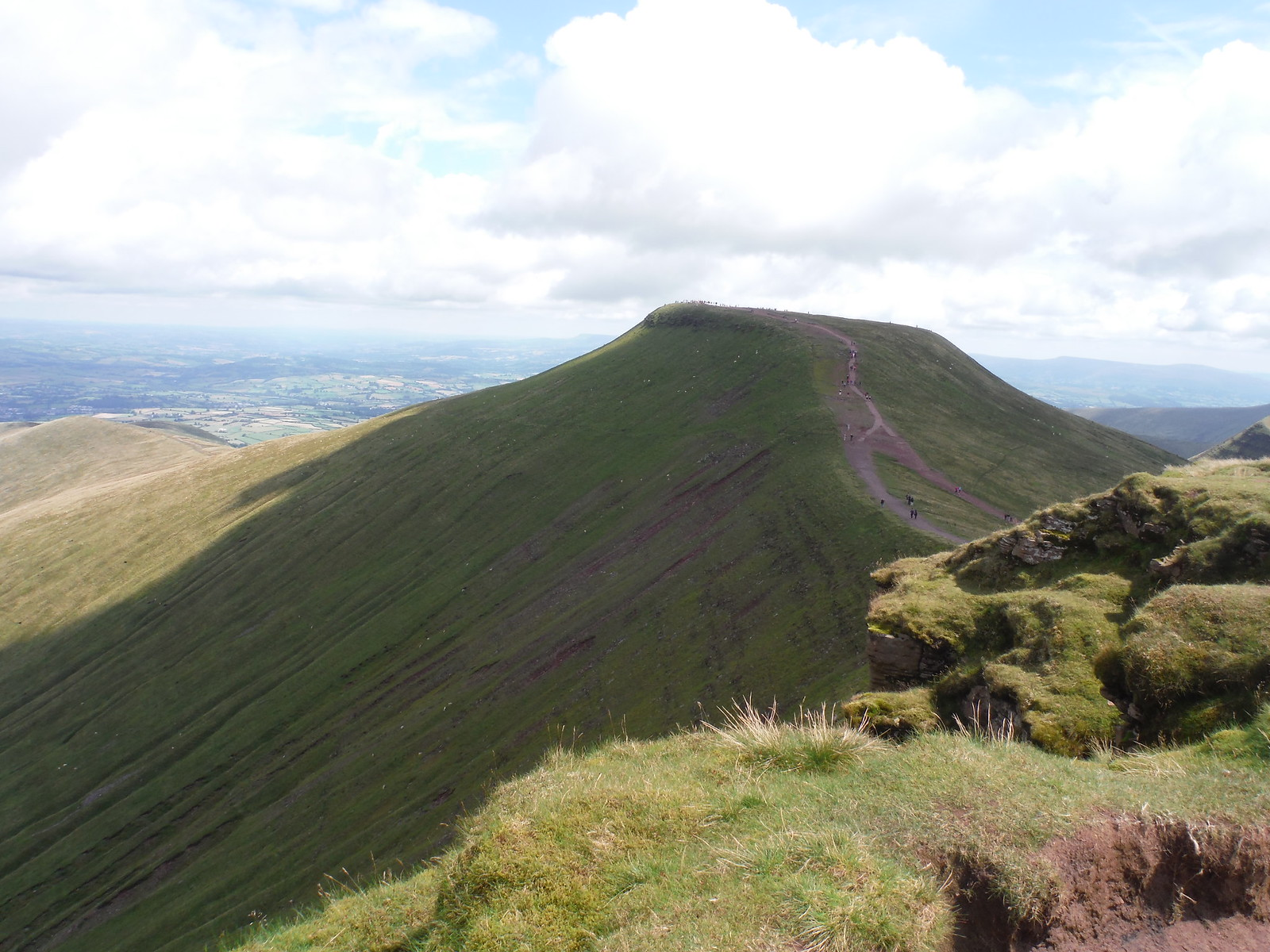 Pen y Fan from Corn Du SWC Walk 278 Breacon Beacons Horseshoe - Bannau Brycheiniog