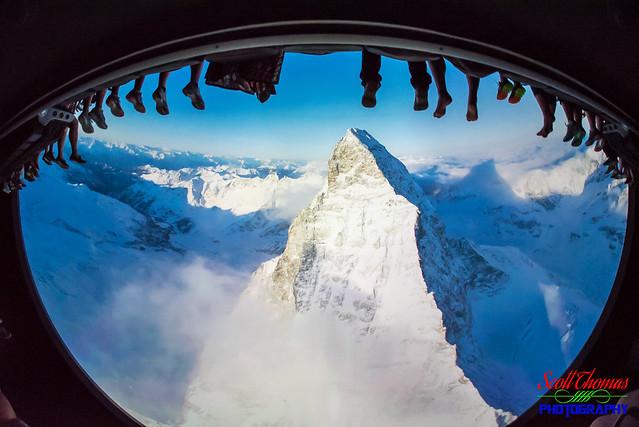 Soarin' Over the Matterhorn, Nikon D750, Sigma 15mm F2.8 EX Diagonal Fisheye