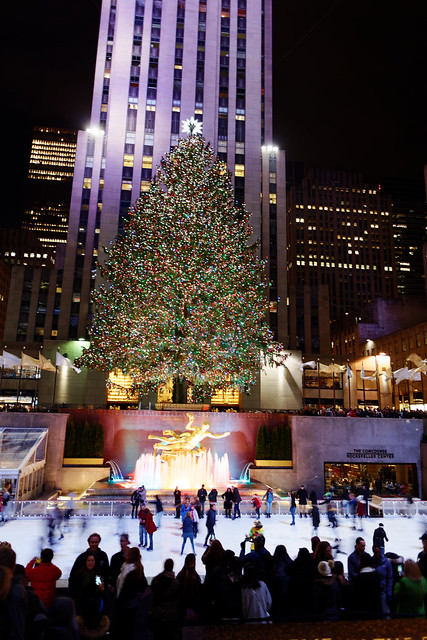 Rockefeller Center Christmas Tree 2016