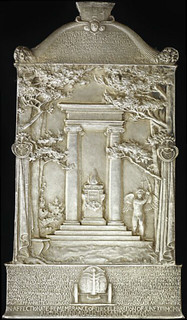 St Gaudens Cornish Masque plaque