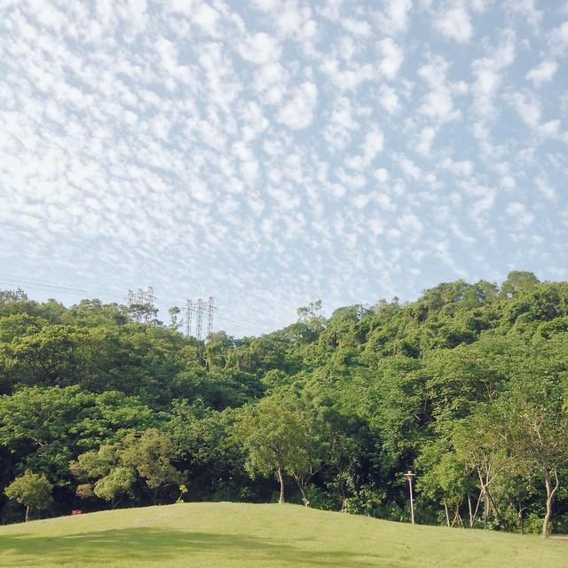 棉花糖雲朵天空