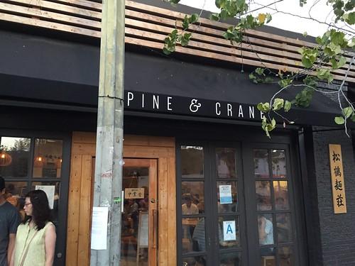 Pine and Crane