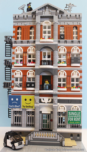 Emmet S Apartment Building Made Of Lego Lego Town Eurobricks Forums