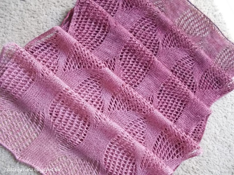galcantray, knit, stole, gradient, yarn (3)