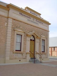Kadina. The Masonic Lodge built in 1883.