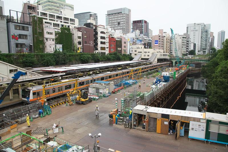 Tokyo Train Story 中央線御茶ノ水駅 2015年9月3日