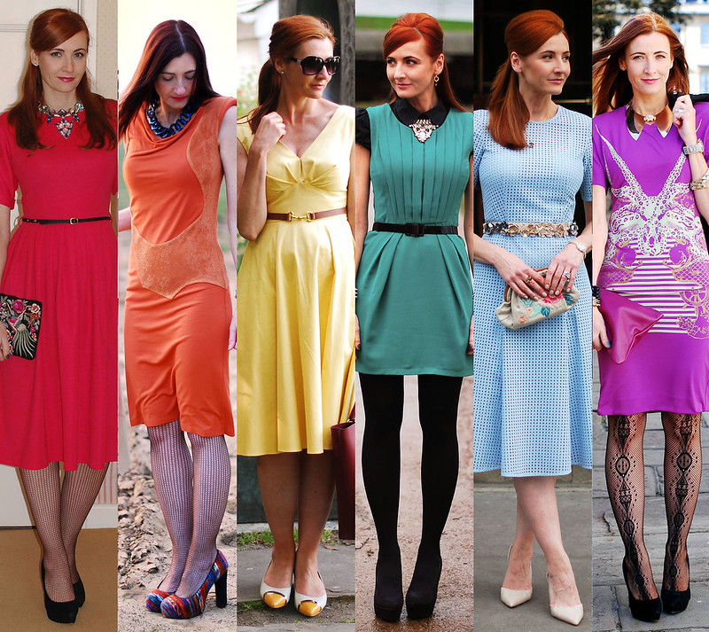 Not Dressed As Lamb | Rainbow dresses