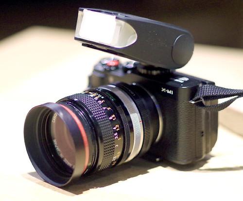 CANON FD 50mm 1.4 + EF-20