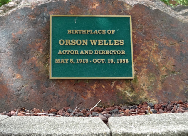 orson-welles-marker - cool things to do in kenosha wisconsin