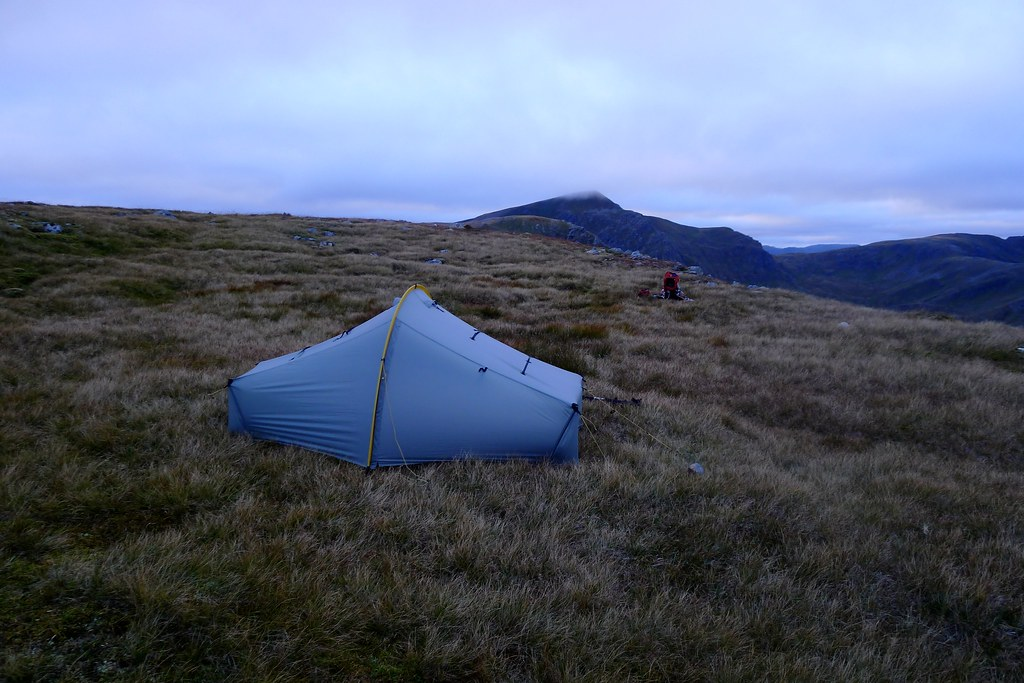 Wild camp on Carn Ghluasaid
