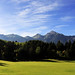 October - Green and blue in South Tyrol by christophbieniek
