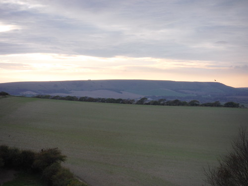 South Downs west of Beddingham Hill