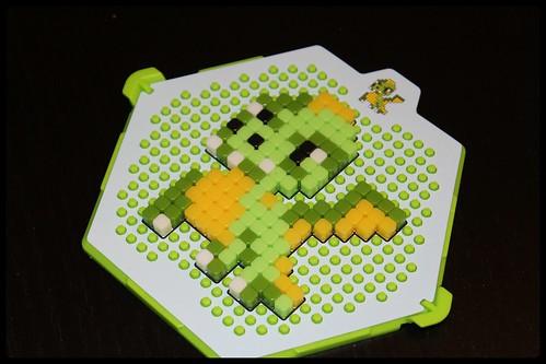 Qixels - un monde de pixels dragon terminé
