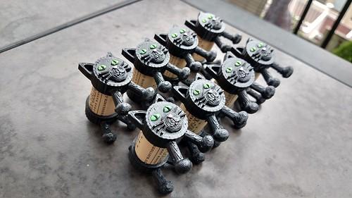 Occoquan Craft Show - Eight Black Cork Kitties