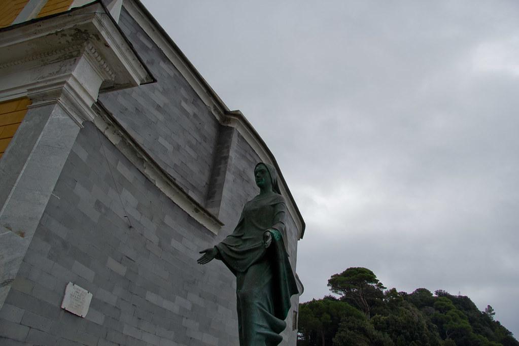 San Giorgio Church in Portofino