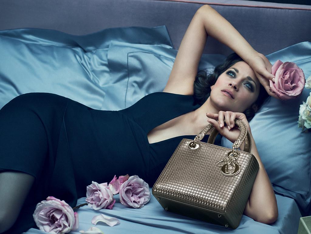 Марион Котийяр — Фотосессия для «Lady Dior» 2015 – 1