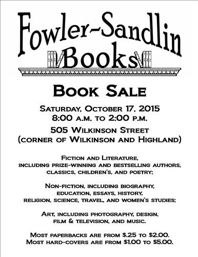 Fowler-Sandlin Book Sale