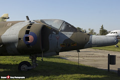 XW919 W - 712074 - Royal Air Force - Hawker Siddeley Harrier GR3 - Polish Aviation Musuem - Krakow, Poland - 151010 - Steven Gray - IMG_0722