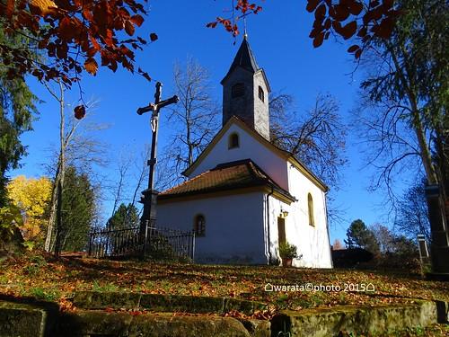 Die Obere Kapelle auf dem Kalvarienberg in Görisried