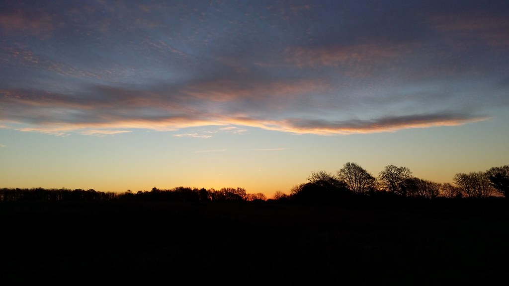 Sunrise in East Sussex #Wealdway