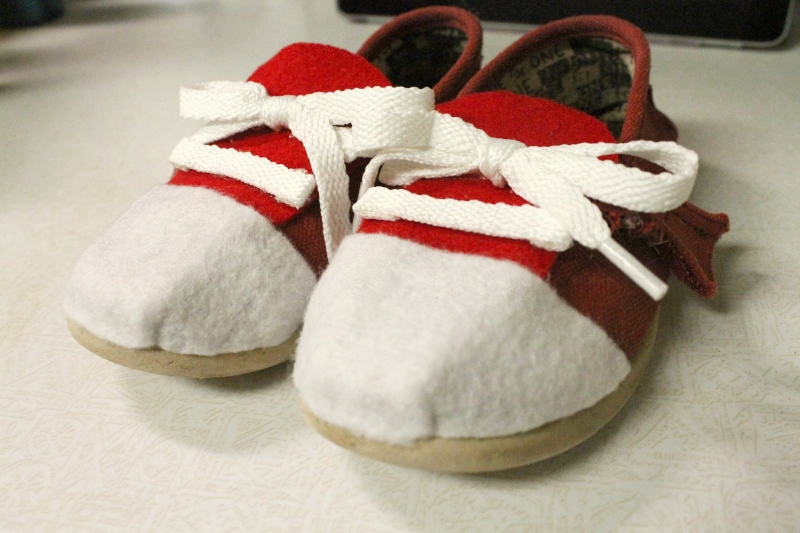 Daniel Tiger shoes, 5