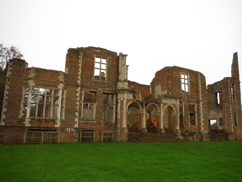 Houghton House, rear view