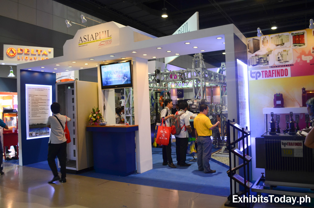 AsiaPhil Exhibit Booth (front)
