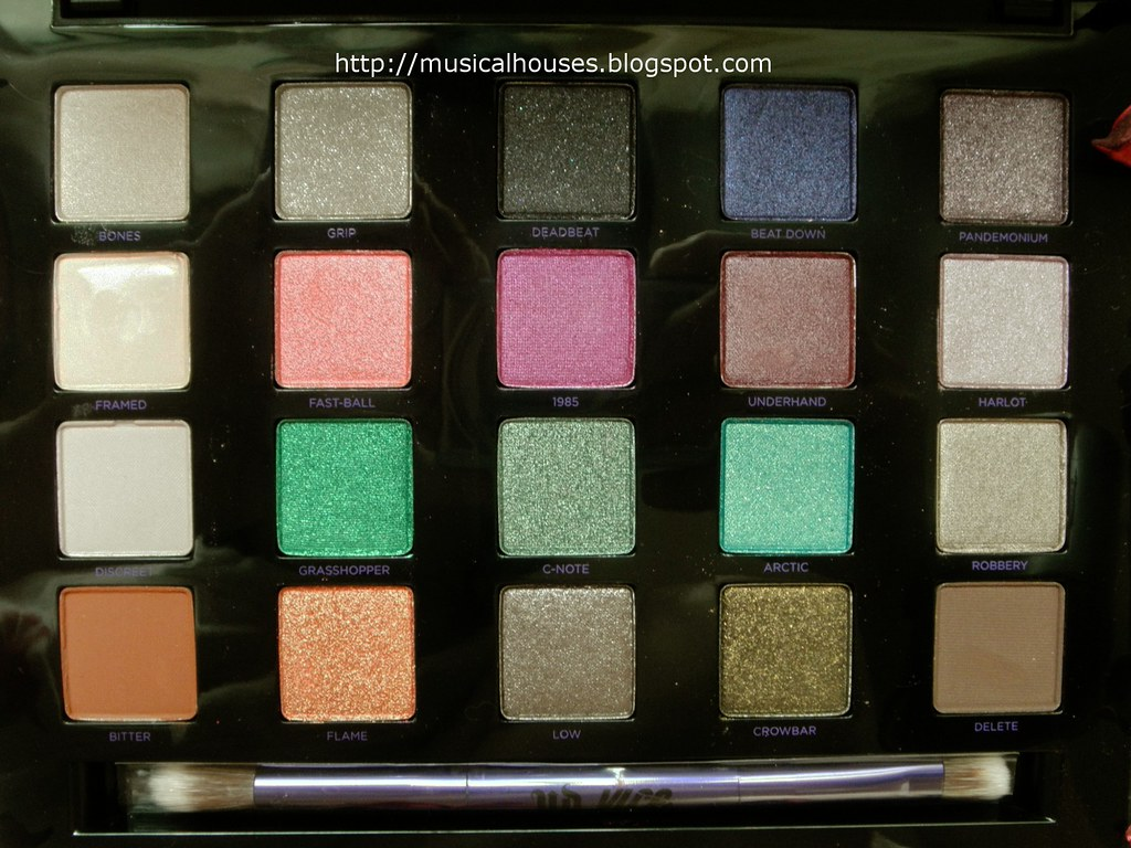 Urban Decay Vice 4 Palette Close