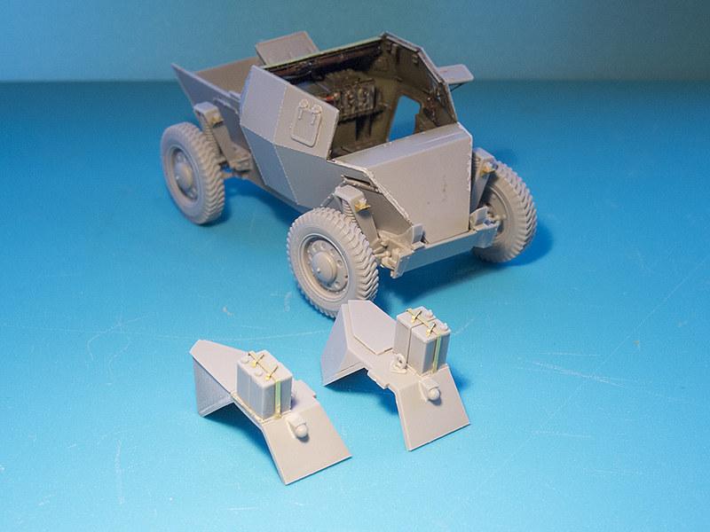 Projet Normandy : Dingo MK.III // Miniart // 1/35 22959568650_9a578598b7_c
