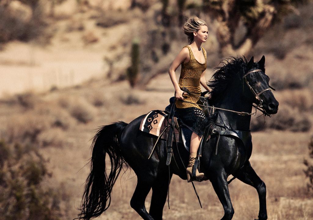 Дженнифер Лоуренс — Фотосессия для «Vogue» 2015 – 3