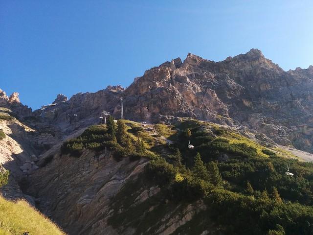 Aufstieg Rifugio Son Forca
