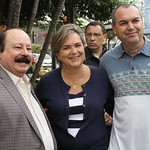 Presidente Levy Fidelix x Caminhada Comércio São Caetano c/ Vice-Prefeita Lúcia Dalmas (PRTB) 07/11/15