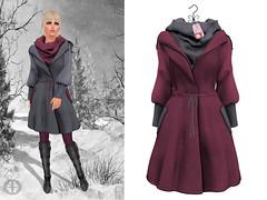 Hilly Haalan - Ysabel Felt Coat w