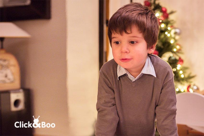 Guille y el árbol de Navidad
