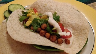 Indian-Spiced Tacos with Mango Salsa