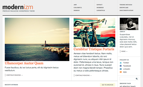Colorlabs Modernizm 1.6.0 - Magazine WordPress Theme