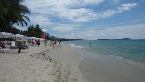 今日のサムイ島 12月11日 チャウエンビーチ