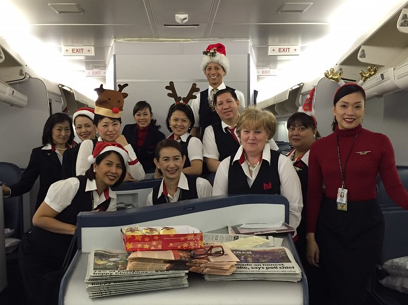 Delta staff at Christmas