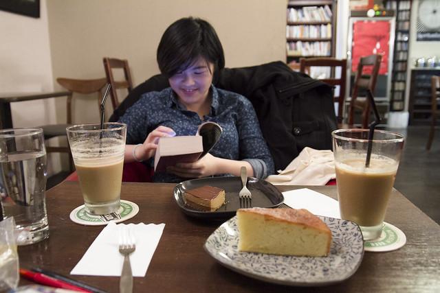 Cake time at Kuroshio