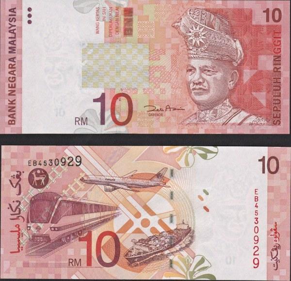 10 Ringgit Malajzia P42